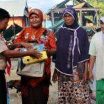 KPP Bagikan Perlengkapan Sekolah Untuk Anak Korban Kebakaran