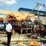 Persiapan Kedatangan Jokowi, Lapak di Pasar Amahami Dibongkar