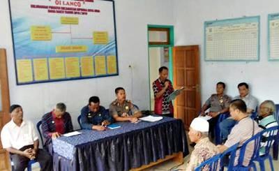 Musyawarah Lawan Radikalisme di Kelurahan Penatoi.