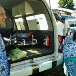 Tiga Pegawai Pingsan di Upacara HUT Kota Bima