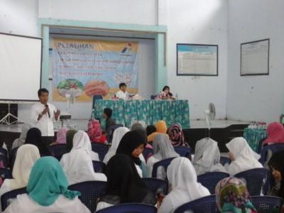 Pelatihan Kader Kelurahan yang digelar Pertamina dan Dikes Kota Bima. Foto: Ady