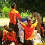 BPBD Serahkan Bantuan Korban Kebakaran Samili