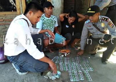 Ratusan Tramadol yang disita Polisi. Foto: Deno