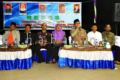 Reses Anggota DPRD Kota Bima Dapil I di Kelurahan Kolo. Foto: Bin