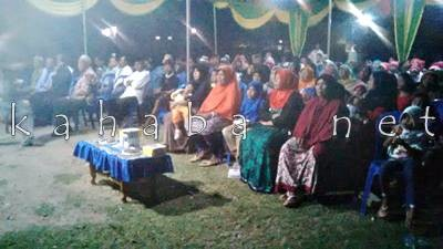 Reses Anggota DPRD Kota Bima Dapil I di Lingkungan Lewi Jambu Kelurahan Melayu. Foto: Bin