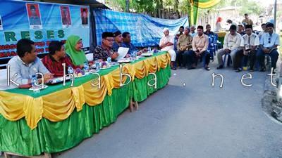 Reses Anggota DPRD Kota Bima Dapil I di Lingkungan Mekar Baru Kelurahan Jatiwangi. Foto: Bin