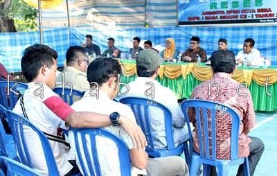 Reses DPRD Dapil I di Lingkungan Spaga Kelurahan Jatibaru. Foto: Bin