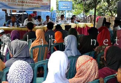 Reses DPRD Kota Bima Dapil III di Kelurahan Nitu. Foto: Noval
