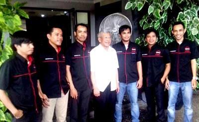 Satgas Bima-Jakarta  bersama DR. A.M. Fatwa