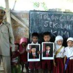 Siswa MTs Soromandi: Tolong Bantu Sekolah Kami Jokowi
