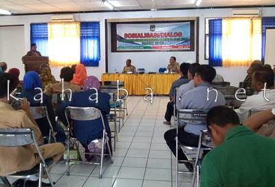 Sosialisasi dan Dialog Forum Pembauran Kebangsaan. Foto: Eric