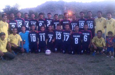 Tim Sepakbola MAN 2 Kota Bima. Foto: Eric