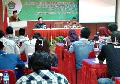Wartawan se NTB saat mengikuti Workshop. Foto: Noval