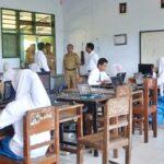 Wawali Bima Pantau Pelaksanaan Ujian Nasional