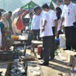 Wawali Bima Tinjau Kondisi Pasar Amahami