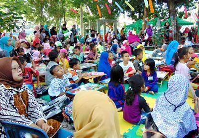Aksi dan Festival Hijau Kota Bima. Foto: Hum