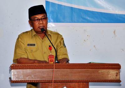 Asisten Pemerintahan dan Kesra Setda Kabupaten Bima H. Abdul Wahab. Foto: Hum