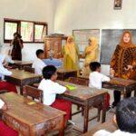 Bupati Tinjau UN Tingkat Sekolah Dasar