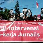 Hari Kebebasan Pers, JANGAN BUNGKAM JURNALIS!