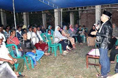 H. Sutarman di Kelurahan Niu. Foto: Bin