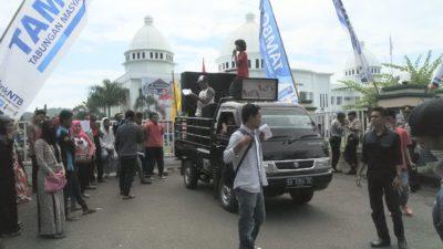 Demo May Day BEM STKIP Bima. Foto: Bin