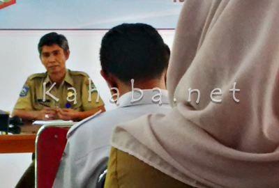 Kabid Perencanaan Pembangunan, Sosial Budaya Bappeda Kota Bima, Adisan. Foto: Bin