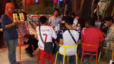 Kebab Turki Milik Sang Brimob. Foto: Bin