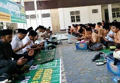 Kegiatan Nusantara Mengaji di Salah Satu Sekolah di NTB.