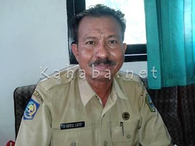 Kepala BPSP Kabupaten Bima Abdul Latif. Foto: Noval