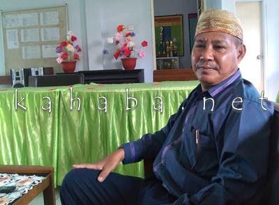 Kepala SDN 1 Kota Bima Burhanuddin AR. Foto: Eric