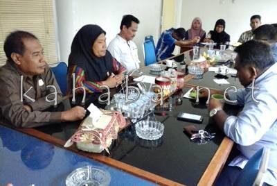 Kunjungan LPA diterima oleh DPRD Kota Bima. Foto: Ady