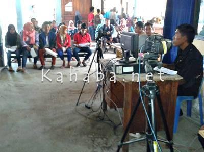 Pelayanan di Dinas Dukcapil Kabupaten Bima. Foto: Noval