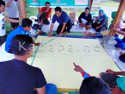 Pembuatan Peta Desa. Foto: Ady