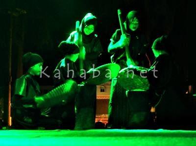 Penampilan Seni Teater saat acara puncak GSMS. Foto: Bin