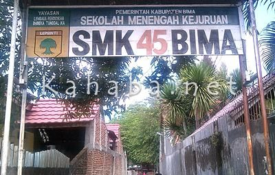SMK 45 Kota Bima. Foto: Eric
