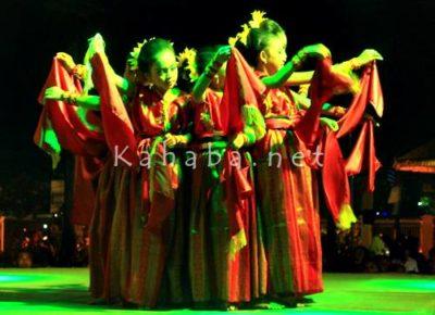 Seni tari yang ditampilkan pelajar pada acara puncak GSMS. Foto: Bin