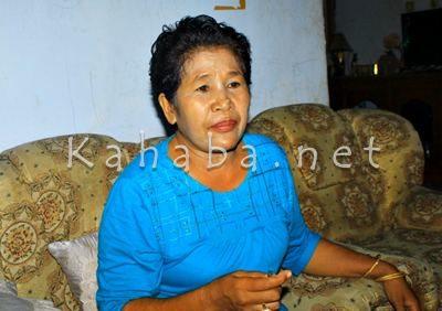 Siti Hajar saat memberikan keterangan kepada Media. Foto: Deno