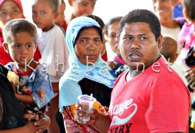 Noval, warga Desa Sampungu. Foto: Bin