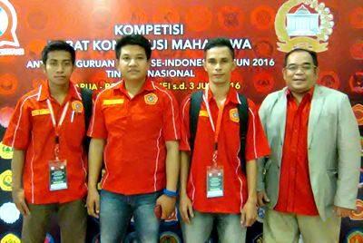 Tim Debat Konstitusi STIH Muhammadiyah Bima.
