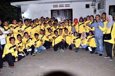 Tim Pekan Olahraga Pelajar. Foto: Hum