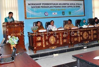 Workshop pembentukan  Pokja SPPA. Foto: Ady