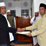 Pemkab Bima Serahkan Bantuan Sarana dan Prasarana Keagamaan
