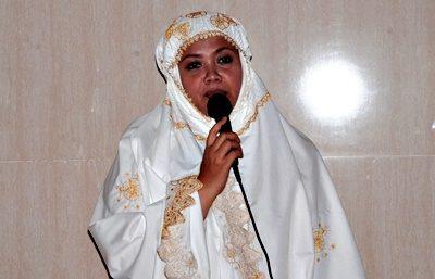 Bupati Bima Hj. Indah Dhamayanti Putri. Foto: Hum