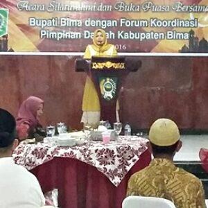Bupati Bima: Tanpa Dukungan TNI Polri, Ibarat Sayur Tanpa Garam