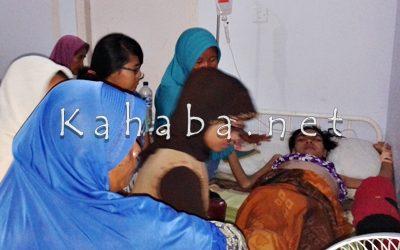 Ernawati terbaring lemah di RSUD Bima. Foto: Noval