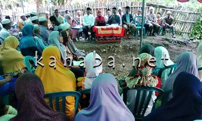 H. Safriansyah saat Reses di Kelurahan Kendo. Foto: Bin