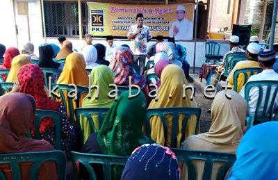 H. Syamsuddin saat Reses di Kelurahan Ntobo. Foto: Bin