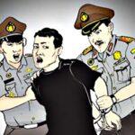 Curi Motor Polisi, Dua Pemuda Diringkus
