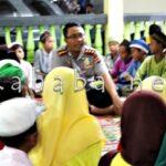 Polres Bima Buka Puasa Bersama dengan 100 Anak Yatim
