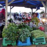 Awal Puasa, Pasar Amahami Sore Hari Sepi